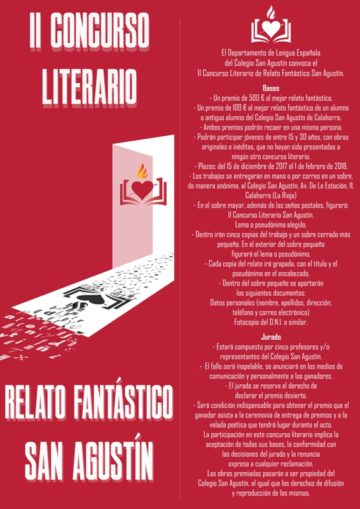 II Concurso Literario de Relato Fantástico