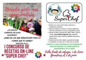 """CONCURSO DE VÍDEO – RECETAS """"EL SUPER CHEF DEL COLE"""""""