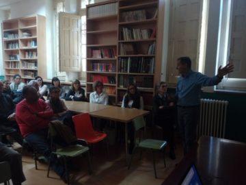 Javier Gutiérrez inicia las charlas con corazón