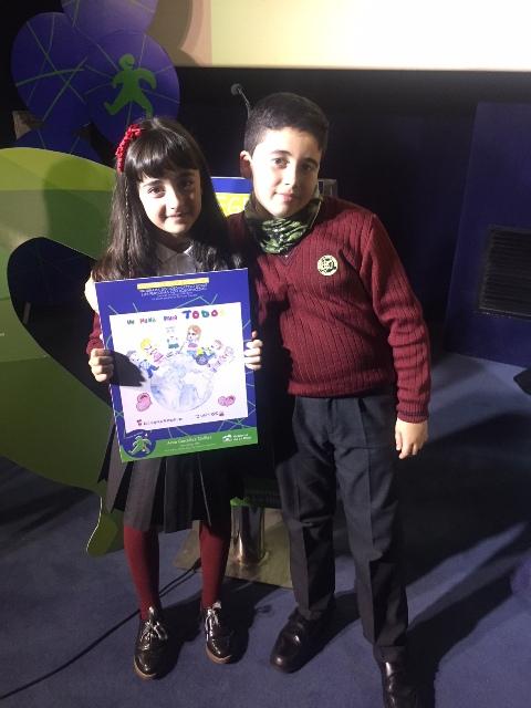 La alumna de Agustinos, Aroa González, premiada en el concurso 'Integra en la escuela'