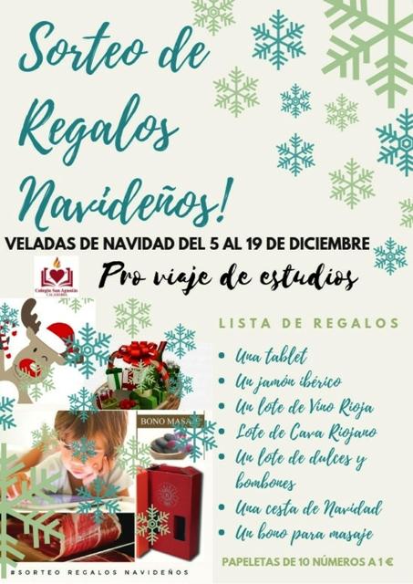 SORTEO DE REGALOS DE NAVIDAD