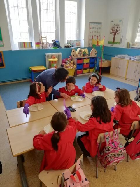TALLER DE COCINA EN 3º DE EDUCACIÓN INFANTIL