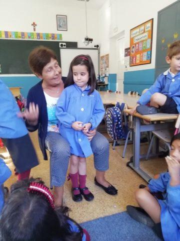 VISITA DE ABUELOS EN EDUCACIÓN INFANTIL