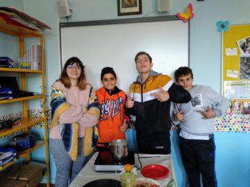 TALLER DE COCINA EN EL AULA PROCUA