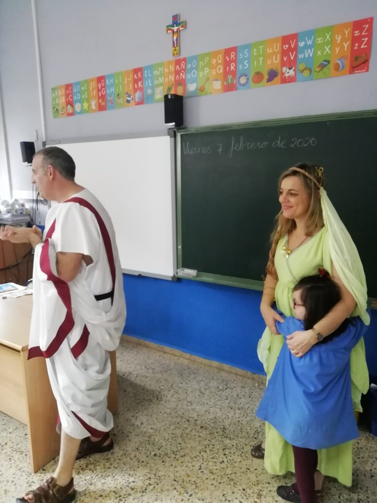 PROYECTO DE LOS ROMANOS EN EDUCACIÓN INFANTIL