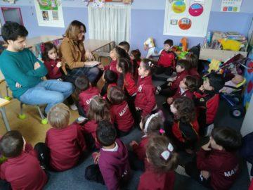 TALLER DE CEUNTA CUENTOS EN EDUCACIÓN INFANTIL