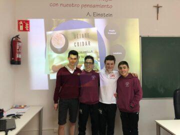 """Agustinos premiado como """"el centro educativo más implicado"""" en el certamen nacional Efigy de la Fundación Naturgy"""
