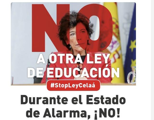 QUEDADA DIGITAL, LUNES 4 DE MAYO #StopLeyCelaá