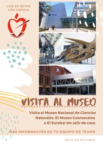 RETO DE OCTUBRE ¡VAMOS AL MUSEO!