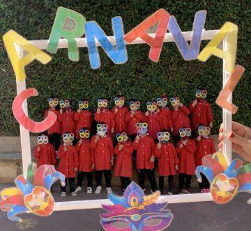 Los alumnos de Infantil de Agustinos celebran el Carnaval aprovechando los tres proyectos que se desarrollan en la etapa