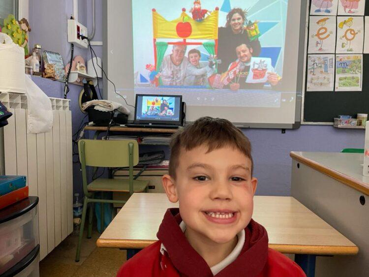 CUENTA CUENTOS EN EDUCACIÓN INFANTIL