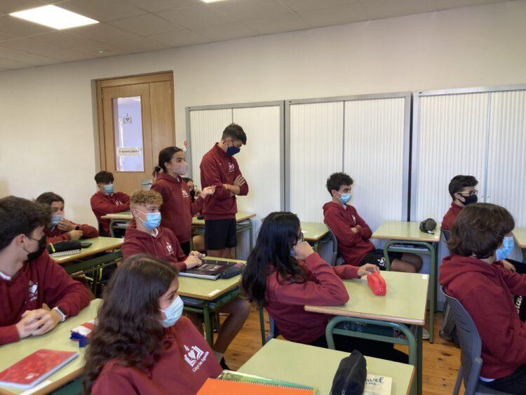 1º de Bachillerato comienza el proyecto de E-Twinning
