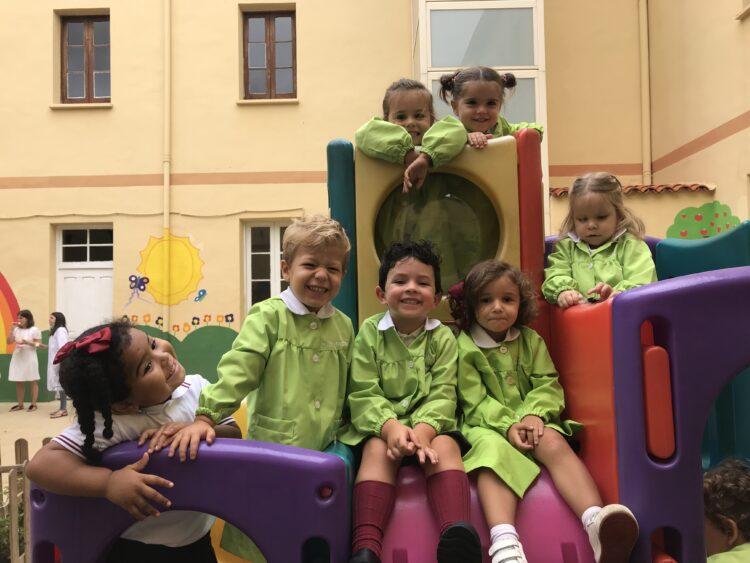 Los niños y niñas de Infantil comienzan su andadura en el cole