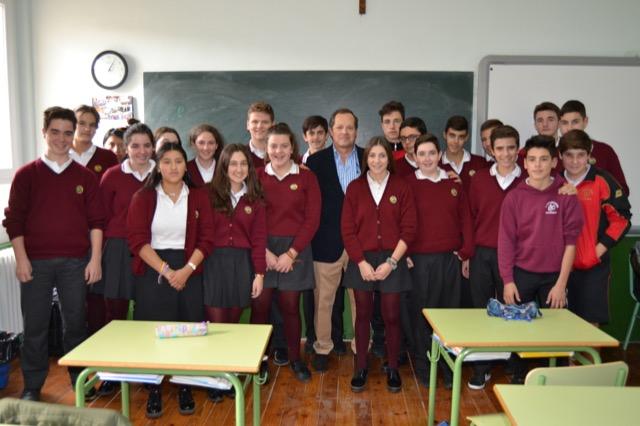Nos ha visitado Leopoldo Santorromán